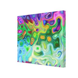 Tan extracto 4,1 lienzo envuelto para galerias