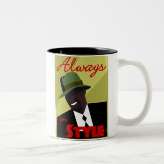 Tan FEDORA Coffee Mug