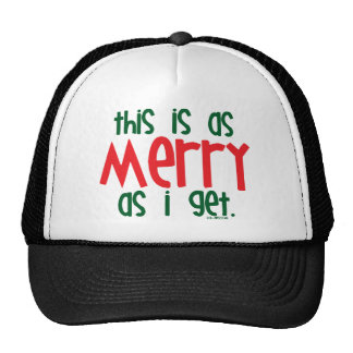 Tan feliz como consigo gorras