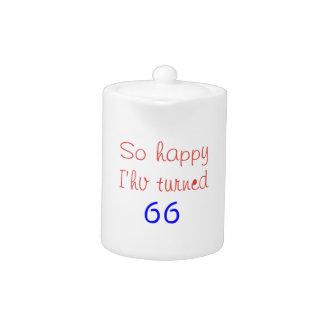 Tan feliz he dado vuelta a 66