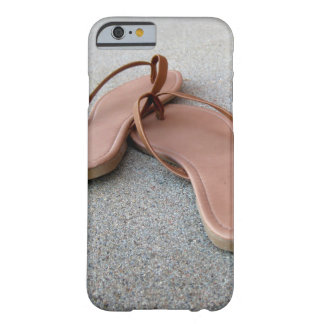 Tan Flip Flops Barely There iPhone 6 Case