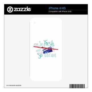 Tan fresco skins para eliPhone 4