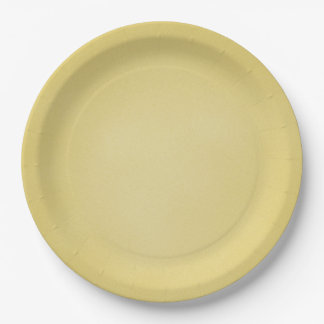 Tan Grainy Texture Look 9 Inch Paper Plate