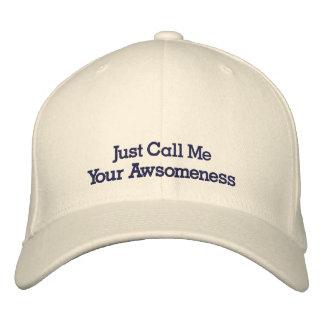 Tan impresionante gorra de béisbol bordada