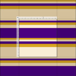 [ Thumbnail: Tan, Indigo, and Goldenrod Lined/Striped Pattern Fabric ]