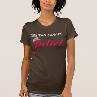 Tan Legged Juliet T-Shirt