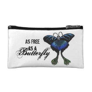 Tan libremente como las sensaciones de la mariposa