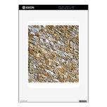 tan light gravel art decal for iPad