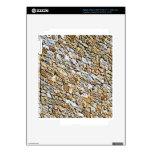 tan light gravel art iPad 3 skins