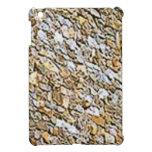 tan light gravel art iPad mini cover