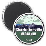 Tan mismo Virginia Charlottesville Imán Para Frigorifico