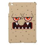 Tan Monster Face, Big Nose Sharp Fangs iPad Mini Cases