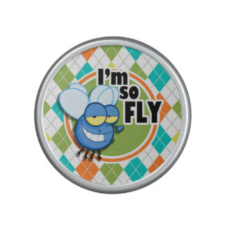 ¡Tan mosca!  Modelo colorido de Argyle Altavoz