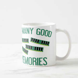 Tan muchas buenas memorias tazas
