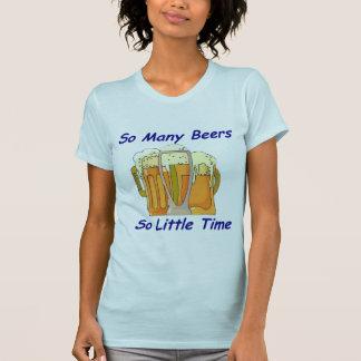 Tan muchas cervezas, tan poca hora playera