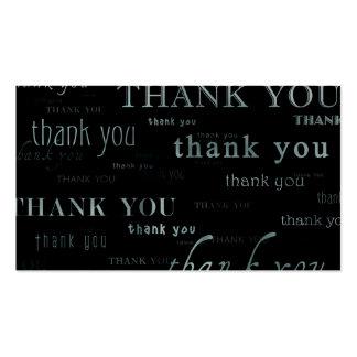 tan muchos agradecen la tarjeta yous de la cupón tarjetas de visita