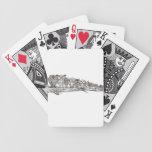 Tan muchos búhos cartas de juego
