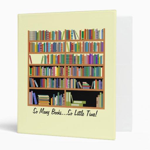 Tan muchos libros (personalizable)
