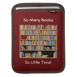 Tan muchos libros (personalizable) fundas para iPads