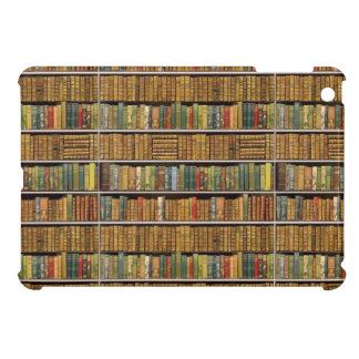 Tan muchos libros que leen la caja de Ipad de la b