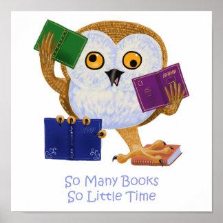 Tan muchos libros tan poca hora impresiones