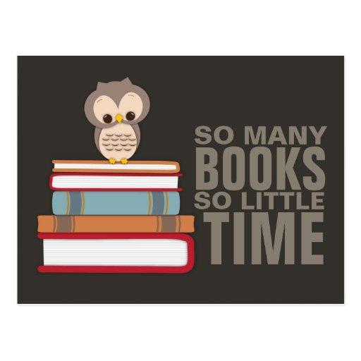 Tan muchos libros tan poco empollón lindo del libr postal