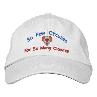 Tan muchos payasos bordaron el gorra gorra de béisbol