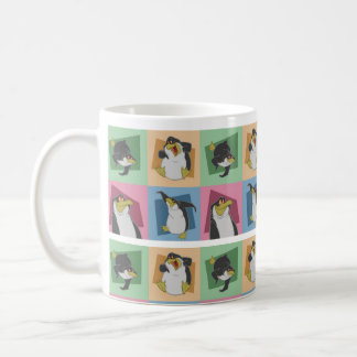 ¡Tan muchos pingüinos Taza De Café