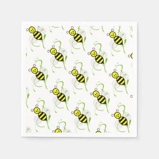Tan ocupado como servilletas de una abeja servilletas de papel