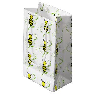 Tan ocupado como un bolso del regalo de la abeja bolsa de regalo pequeña