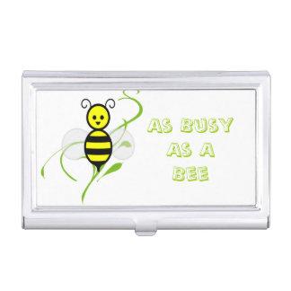 Tan ocupado como una abeja de la abeja cajas de tarjetas de presentación