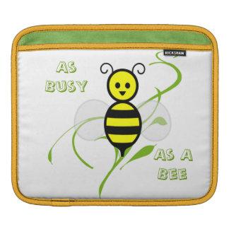 Tan ocupado como una abeja manga de iPad