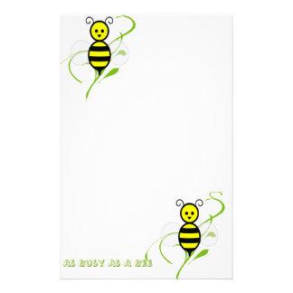 Tan ocupado como una abeja papelería de diseño
