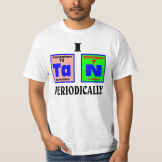 Tan periodically. shirt