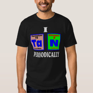 Tan periodically. t-shirt