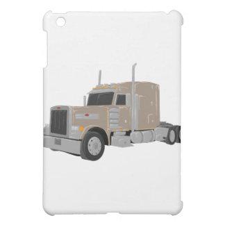 tan peter built truck cover for the iPad mini