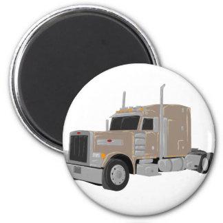 tan peter built truck magnet