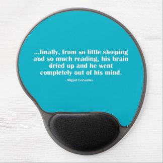 Tan poco durmiendo… alfombrilla con gel