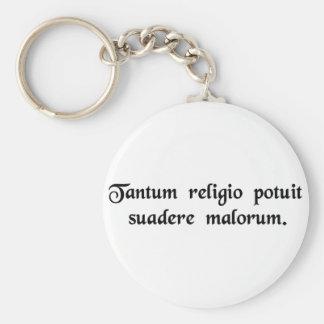 Tan potente era la religión en la persuasión a los llavero redondo tipo pin