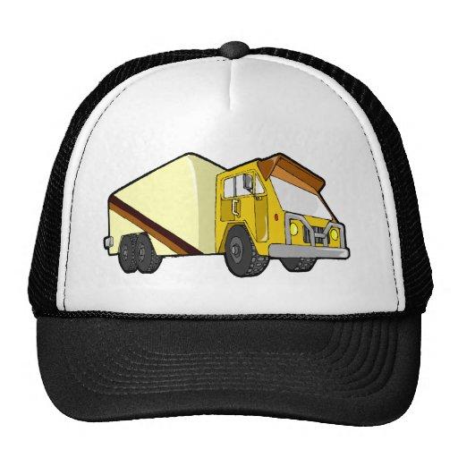 Tan rig trucker hat