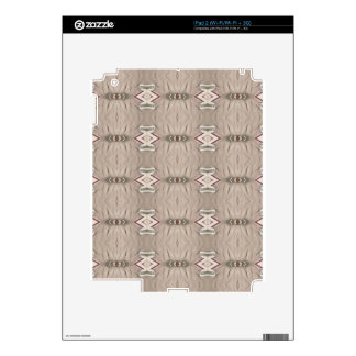Tan Sandstone Tribal Pattern Decal For The iPad 2