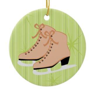Tan Skates ornament