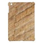 tan slant texture iPad mini covers