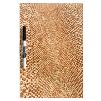 Tan Snakeskin Dry Erase Board