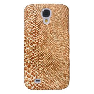 Tan Snakeskin Galaxy S4 Cover