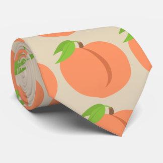Tan Southern Peach Emoji Tie