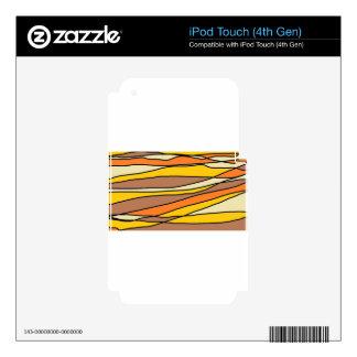 tan streaks.jpg iPod touch 4G skin
