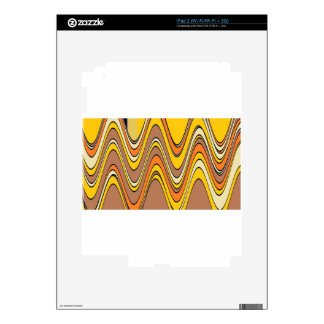 tan streaks rippled.jpg iPad 2 decal