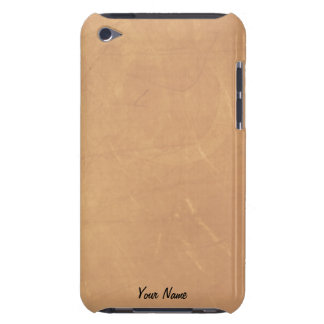 Tan Suede Look  iPod Touch Barley There Case