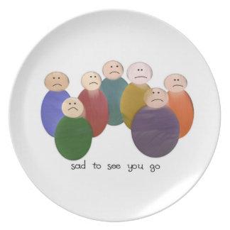 Tan triste plato de cena